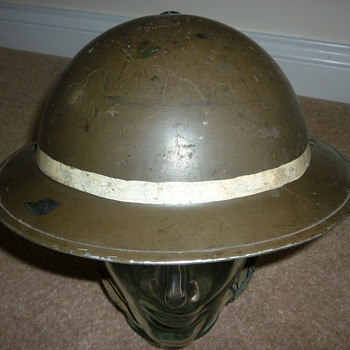 WW11 Mines Rescue/Security helmet