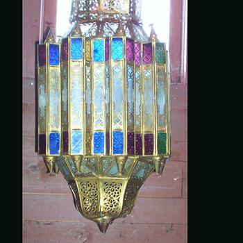 ANTIQUE HANGING LIGHT FIXTURE - Lamps