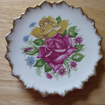 Decorative Flower Plate - China and Dinnerware