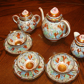 Japanese tea set - China and Dinnerware
