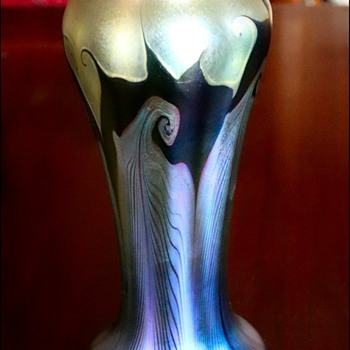 Quezal Vase - Art Glass