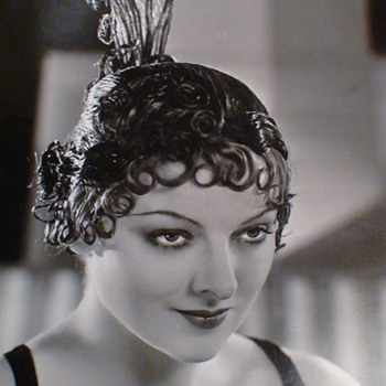 Myrna Loy By CS Bull Original Blind Stamped Photo