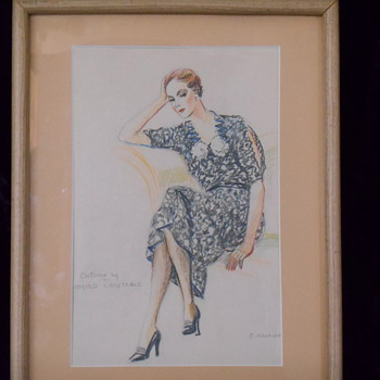 Another Loved Watercolor from the 1930's