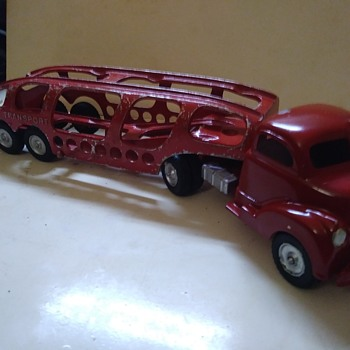 Another Hubley Transport - Model Cars