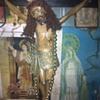 Antique religious statues