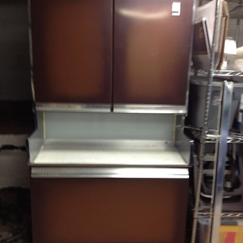 Very rare GE refrigerator - Kitchen