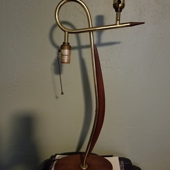 Can anyone Identify this lamp  - Mid-Century Modern