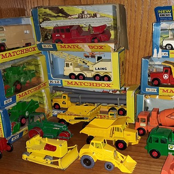 Major Mega Mechanical Matchbox Monday King Size Matchbox Models - Model Cars