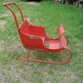 Childs sleigh