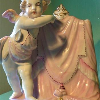 1890s Menu Holder From Wilpen Hall - Figurines