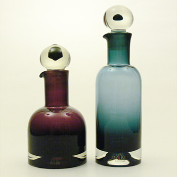 REX decanters, Nanny Still (Riihimäen, 1965) - Art Glass