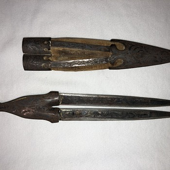Odd Old Dagger - Tools and Hardware