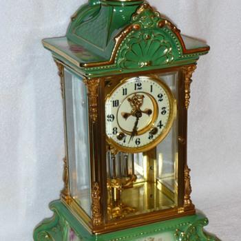 Ansonia Royal Bonn Crystal Regulator No. 4 - Clocks