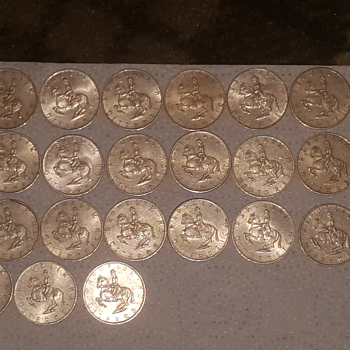Rep ostrich SHILLING s silver coins - World Coins