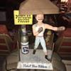 Pabst Blue Ribbon beer Boxer display