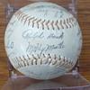 1962 New York Yankees signed baseball