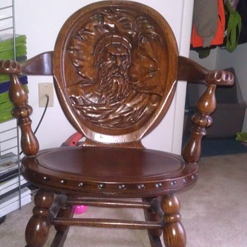 my antique rocking chair