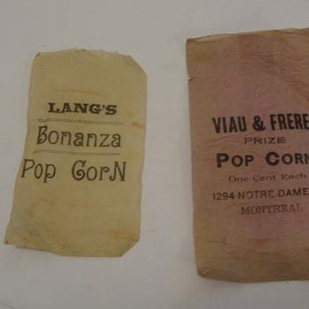 Popcorn Bags  - Paper