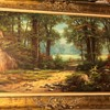 Forest Scene by Anton Gutknecht framed in Belgium