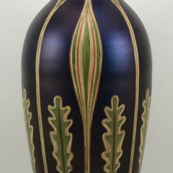 Loetz Rubin Matt Iris, PN II-20, ca. 1900 - Unknown DEK - Art Glass