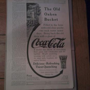 Old Coca Cola Ad  June, 1912 - Coca-Cola