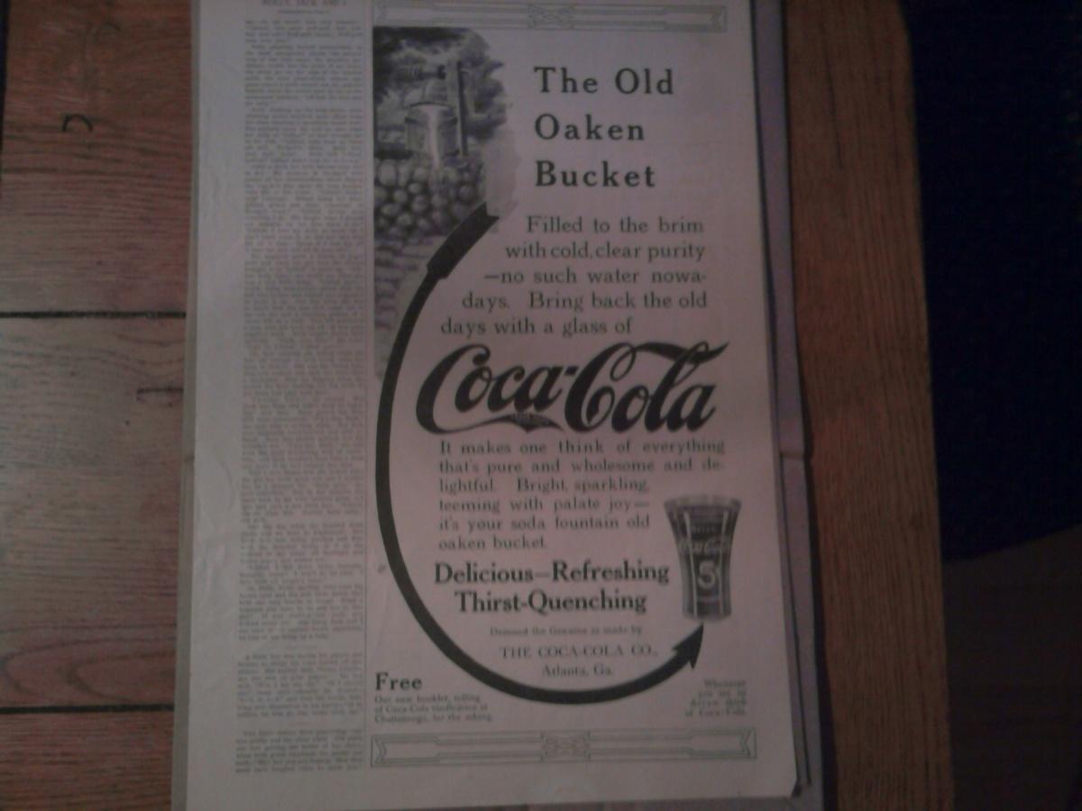 Old Coca Cola Ad June, 1912   Collectors Weekly