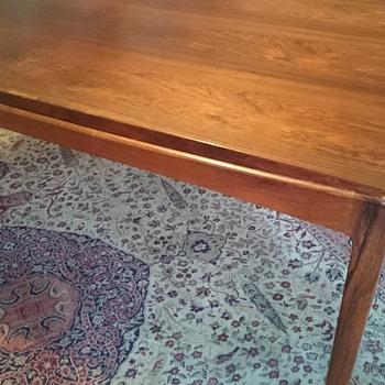 Mid century modern Danish extending table