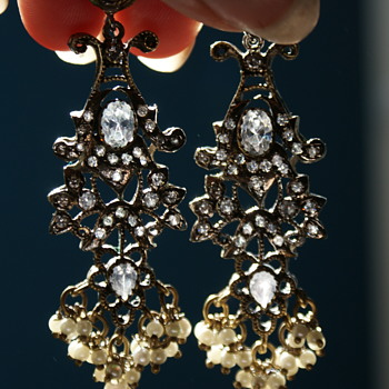 Vintage Costume Earrings Made in India? - Costume Jewelry