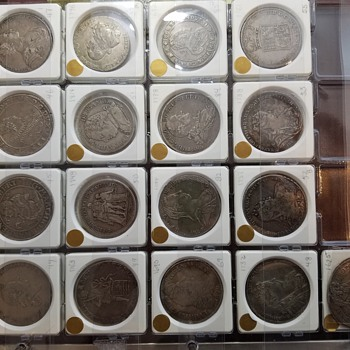 1500'S - 1700'S RUSSIA, PRUSSIA, POLISH COINS
