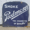 Piedmont Cigarette sign