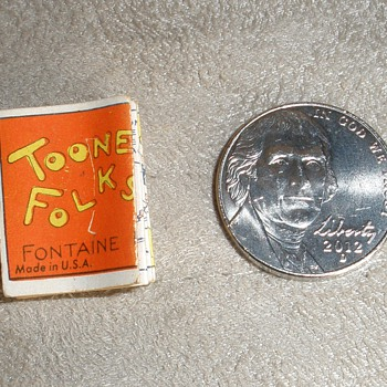 """RARE! Toonerville Folks Fontaine Fox MINIATURE Comic Strip """"Little Brother"""" Bell Newspaper Syndicate"""