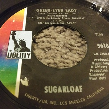 Sugarloaf...On 45 RPM Vinyl - Records