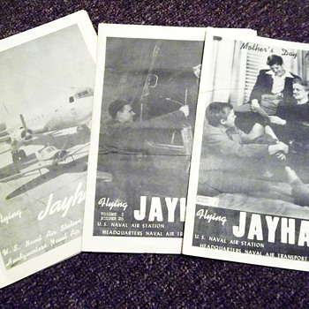 1945 Flying Hawk Magazines  - Paper