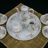 Theodore Haviland Limoges Rosiland Miniature Tea Set