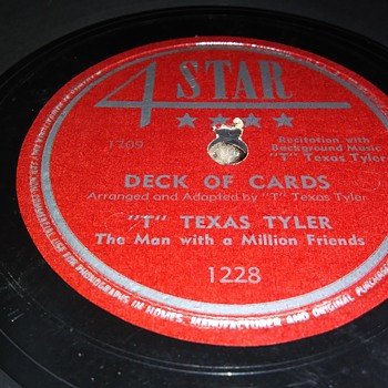 """T"" TEXAS TYLER - Records"