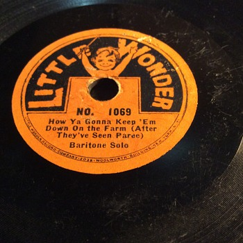 Little wonder number 1069 (1919) - Records