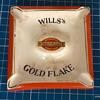 Will's Gold Flake ceramic ashtray.