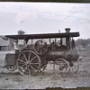Antique Steam Tractor Glass Photo Negatives