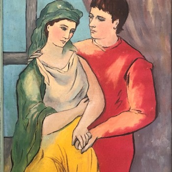 "Picasso ""The Lovers"" Mardi 52 - Fine Art"