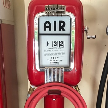 1950's Eco Air meter ....remember those days.  - Petroliana