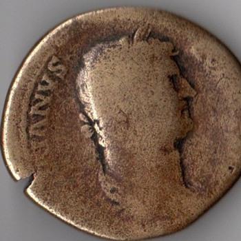 Hadrian Roman Coin 134-138 AD
