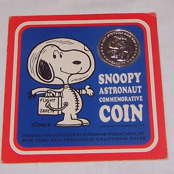 Snoopy Commemorative Medallion