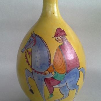 C.A.S., Ceramiche Artistica Solimene of Vietri vase, italy - Pottery