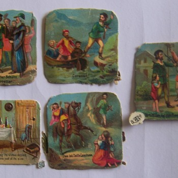 Miniture German Cards ?????? unknown age. - Cards
