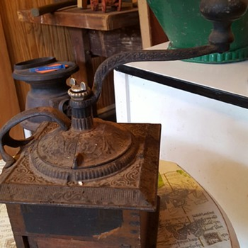 My newest addition.. coffee grinder