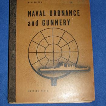 Naval Ordnance and Gunnery 1944