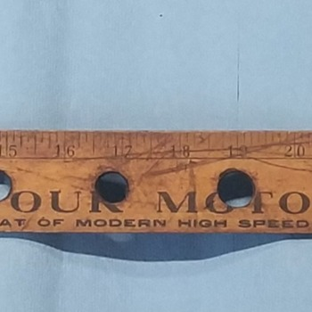 1950s Jadson Valve Ruler - Tools and Hardware