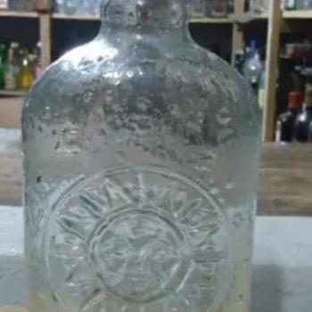 Glass bottle sun & moon - Bottles