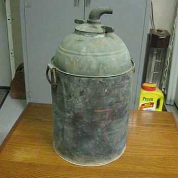 copper stove top Still from prohibition 1920's