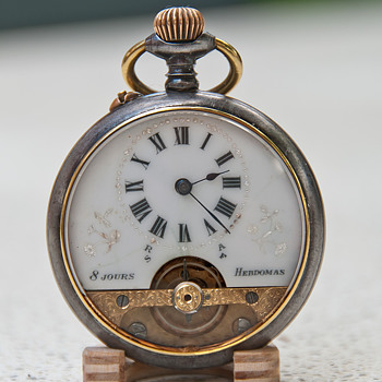 Hebdomas 8 days pocketwatch - Pocket Watches